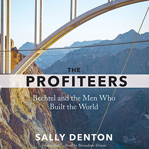 The Profiteers audiobook cover art