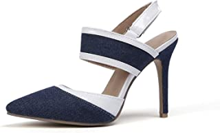 Surprise S Women Shoes Platform All Match Thin High Heel Buckle Pu Leather Ladies Pumps Size 34-43