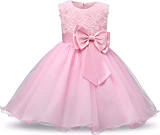 Surprise S Princess Lace Sleeveless Dress Formal Pageant Wedding for 3 10 Years Girls Party Costume Clothing