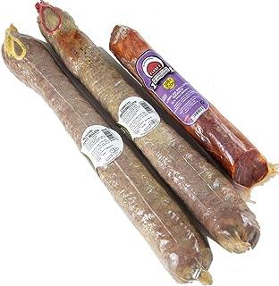 Lote Premium Salamanca: Chorizo + Salchichón Cular Ibérico Bellota+ Lomo de Bellota. ENTREGA 24-72 HORAS. 81,80€. Flores.