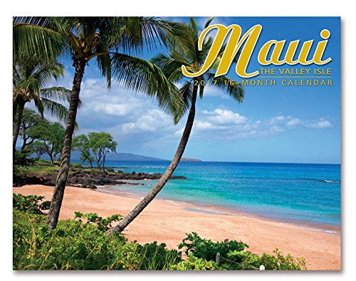 2017 Trade Calendar: Maui: The Valley Isle