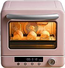 Horno Digital, Defrost Mini Microondas Interior Cerámico Mayor Facilidad Limpieza 20L, 1300W, rosa