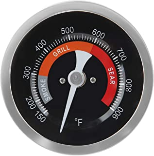 Dracarys Grill Temperature Gauge Thermometer Replacement for Big Green Egg with 3.3