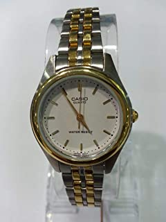 Casio Women's Watch LTP-1129G (Silver and Gold)