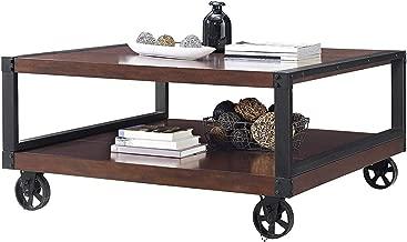 Nоvоgrаtz Deluxe Premium Collection Southampton Wood Veneer Coffee Table Espresso Decor Comfy Living Furniture