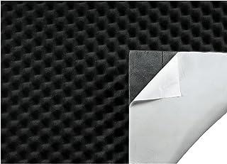Hama 45899 geluidsisolatie voor mat voor auto, PC of subwoofer boxen (dempend noppenschuim, zelfklevende geluidsisolatie, ...