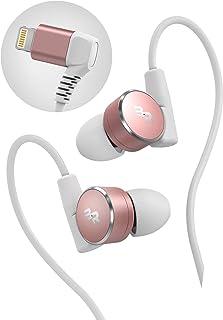 Thore iPhone Earbuds (V180) Apple MFi Certified Lightning Earphones (Sweat/Water Resistant) in Ear Workout Gym Headphones ...