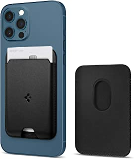 Spigen Valentinus magnetische portemonnee kaarthouder ontworpen voor MagSafe compatibel met iPhone 12 / iPhone 12 Pro/iPho...