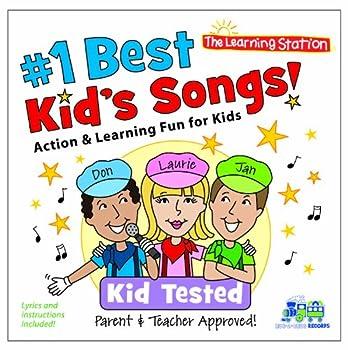 Kimbo Educational #1 Best Kid s Songs! CD
