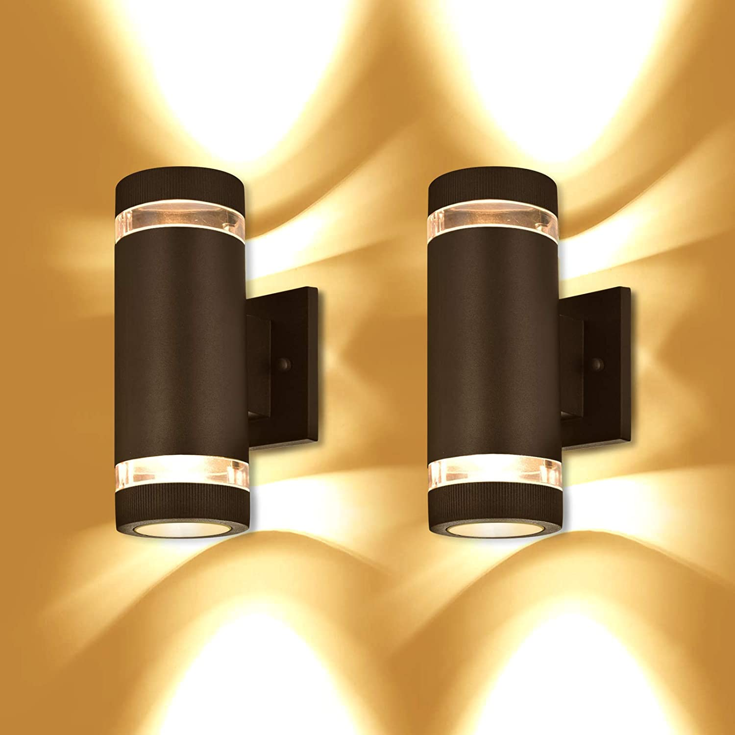 Outdoor Wall Light Our shop most popular Translated Bling Exterior Aluminum Listed ETL - Lighting