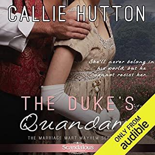 The Duke's Quandary audiobook cover art