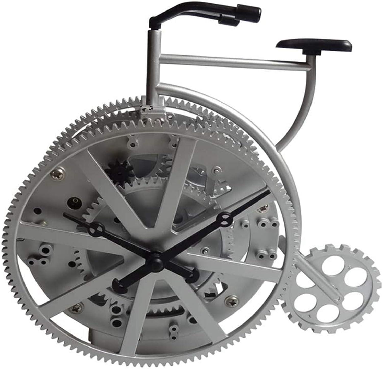 Garantía 100% de ajuste Penggao Creativa estéreo Retro Bicicleta Bicicleta Bicicleta Bicicleta de Bloqueo Estilo Cerradura casa decoración del Engranaje  mejor calidad