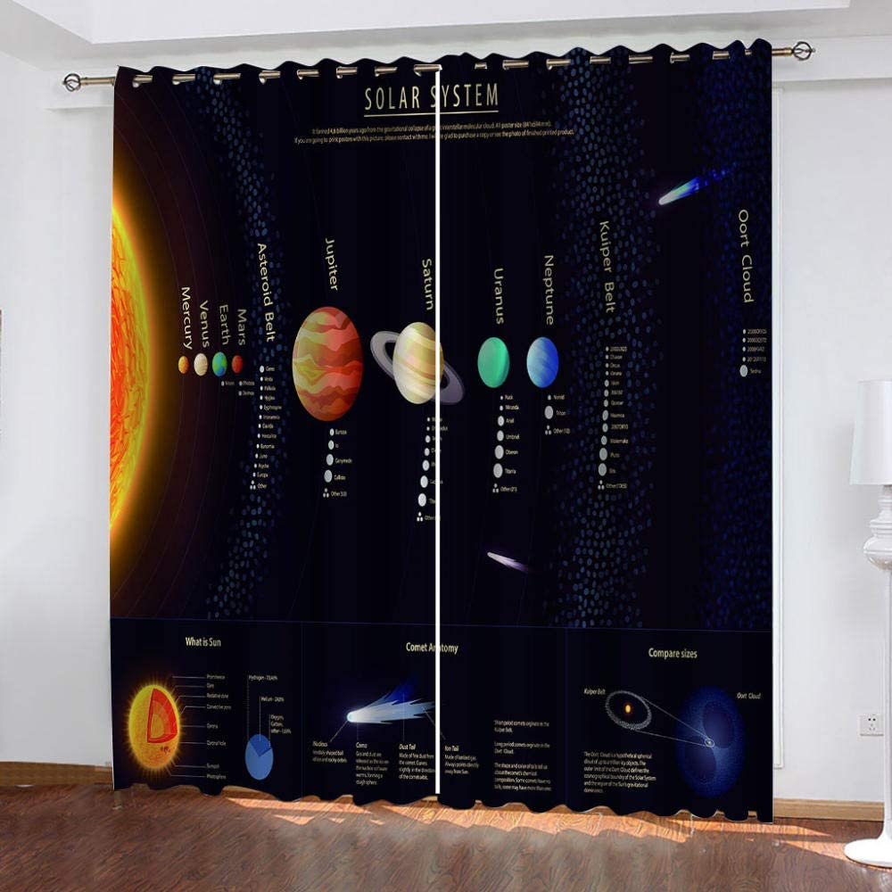 OFFicial site LILYXIN Curtains High material Drapes For Bedroom Living Room Of Set 2 Panel