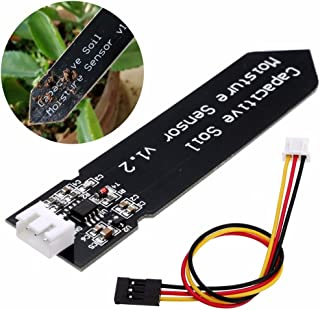 Capacitive Soil Moisture Sensor Module Detection Sensor Analog Output DIY Electronic for Arduino and Raspberry Pi
