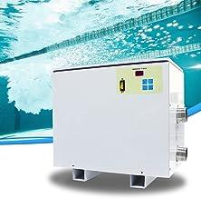 HIMAPETTR 45 KW Termostato de Pisina, 220V/380V Piscina calefactora, Piscina SPA Calentador de Agua eléctrico, Calentador de Agua eléctrico Auxiliar,380V 24KW