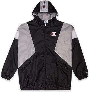 Jackets Big and Tall Zip Up Hooded Nylon Windbreaker rain Men Jacket