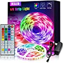 JESLed 6M/20FT RGB LED Light Strips Kit with 44 Key IR Remote