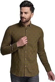 ID Men Green Slim Fit Shirt