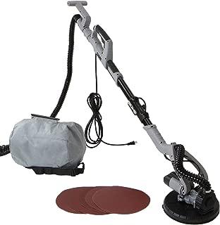 Stark Industrial 750W Electric Drywall Sander Telescoping Pole Adjustable Speed Sanding Dustless Vacuum Dust Bag