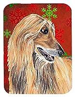 Caroline's Treasures Afghan Hound Red Snowflakes Holiday Christmas Mouse Pad/Hot Pad/Trivet (SC9501MP) [並行輸入品]