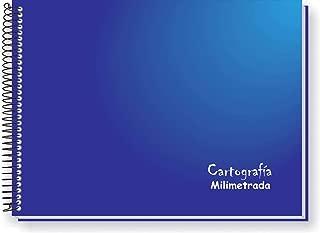 Caderno Desenho Milimetrado, Tamoio 2559, Capas Sortidas, Pacote com 4 Cadernos