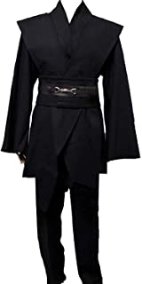 Men Tunic Hooded Robe Cloak Knight Fancy Cool Cosplay Costume