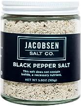 Best jacobsen black pepper infused salt Reviews