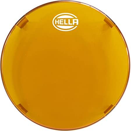"""HELLA 358116991 6"""" Amber Driving Light Cover"""
