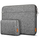 Inateck Tasche Hülle Kompatibel mit 13 MacBook Air 2020 M1-2018, 13 MacBook Pro 2020 M1-2016, Surface Pro X/7/6/5/4/3/, XPS13, 12.9 iPad Pro, Laptop Sleeve Hülle Laptophülle