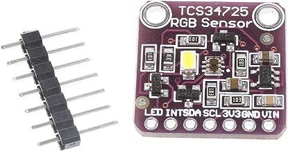 ICQUANZX Módulo de la Placa de Desarrollo del módulo de reconocimiento de Sensor de Color Claro TCS34725 RGB para Arduino