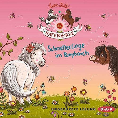 Schmetterlinge im Ponybauch Titelbild