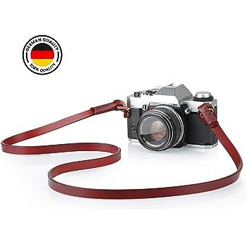 JDMN ATELIER Correa de cuero vintage para cámaras Erik: Amazon.es ...