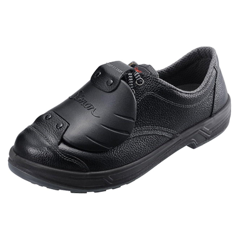 バッフルシールドハイジャック[シモン] 【SS11】樹脂甲プロD-6 樹脂製甲プロテクタを搭載 広い範囲で足を保護し、重量落下物から足甲を守るJIS規格合格品(付加的性能M)の安全靴
