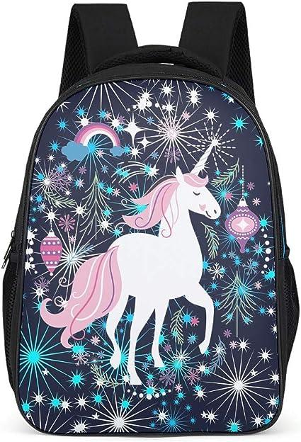 BTJC8 mochila de unicornio para niñas, estilo casual ...
