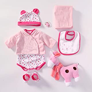 iCradle Handmade Lovely Clothes Reborn Dolls Outfit Suit for 22