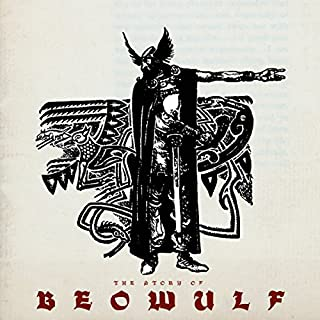 The Story of Beowulf audiobook cover art