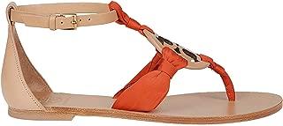 Luxury Fashion Womens 56475266 Orange Sandals   Spring Summer 19