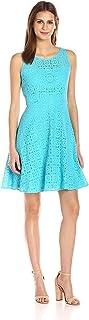 ناين ويست فستان لل نساء مقاس M , اسود - فساتين عملية كاجوال