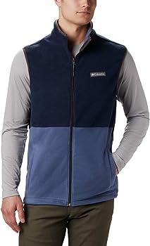 Columbia Men's Full Zip Basin Trail Fleece Vest