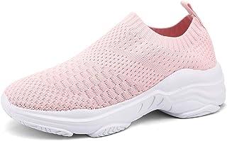 ZUSERIS Donna Scarpe da Ginnastica Sneaker Casual Slip on Scarpe da Corsa Running Fitness Sportive Outdoor Camminata Scarp...