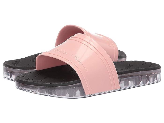 x Rider Slide Flat Sandal Light Pink/Black