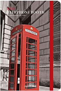 Scrikss Red Defter, Çizgili, A5, Telephone Booth