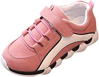 Boomboom Baby'Shoes Kids Boys Girls Hook and Loop Sneaker Comfortable Light Weight Running Shoes