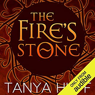 The Fire's Stone audiobook cover art
