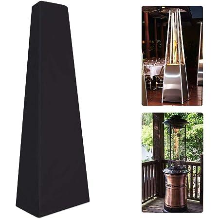 HNYG HYJJZ23 Housse de chauffage de terrasse robuste et imperméable, 87 cm, pour chauffage de jardin, chauffage de terrasse pyramide, grand triangle