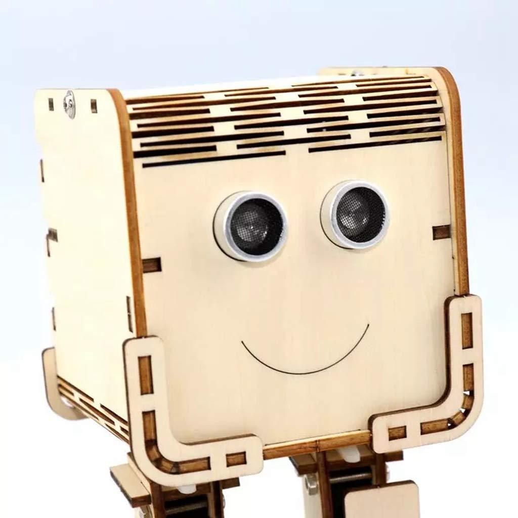 TMIL DIY 4 DOF Inteligente Robot Kit con Sensor ultrasónico y ...