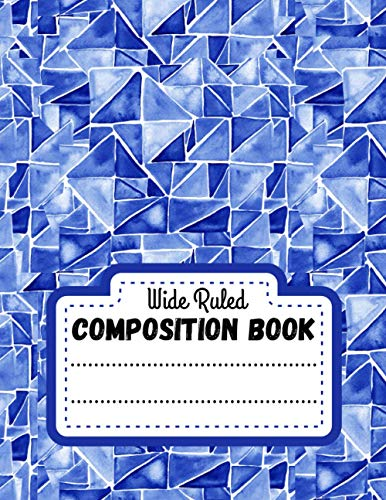 Composition Book Wide Ruled: Lined notebook paper - Christmas Presents ideas For Adults, Kids & Teen - Xmas gift journal - Mirror Sky Reflection Background