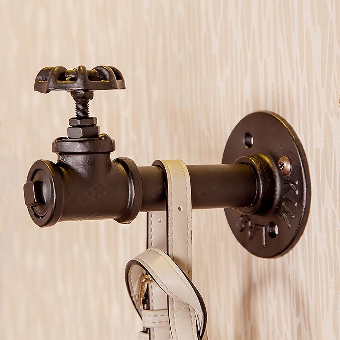 ぐるぐるクローンキリンコート洋服ラック レトロスタイルの壁ハンガーコート帽子ラックフックホームベッドルームの芸術の装飾 (Color : 2)