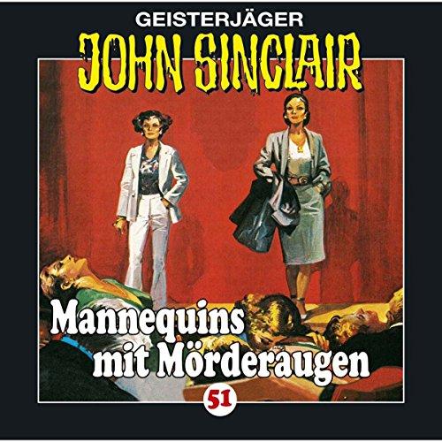 Mannequins mit Mörderaugen audiobook cover art