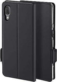حافظة لهاتف سوني اكسبيريا L3 Leather Case, [وظيفة الوقوف] [فتحة بطاقة] [مغناطيس] [مضاد للانزلاق] حافظة جلدي قلاب لهاتف سون...